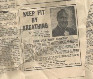 keep fit by breathing