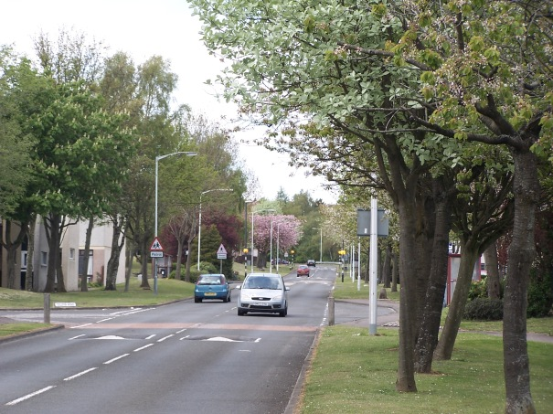 Pitteuchar: view up the main road